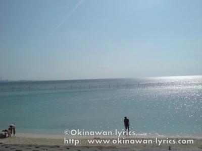サンセットビーチ@沖縄