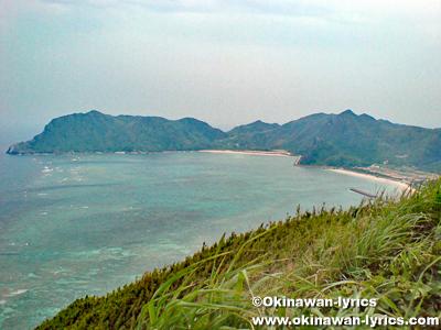 東り浜展望台@渡名喜島