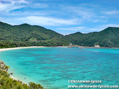 渡嘉敷島、離島(シブがき島)