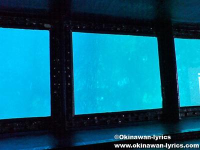 グラスボートで海底奇跡@与那国島