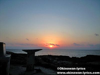 日の出@波照間島