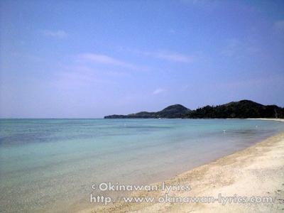 石垣島 底地ビーチ、石崎、米原