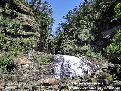 マヤグスクの滝@西表島縦断