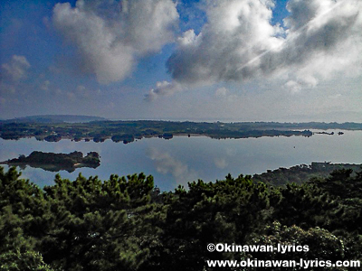 嵐山展望台@沖縄本島