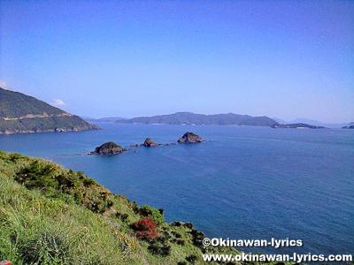 大島海峡@奄美大島