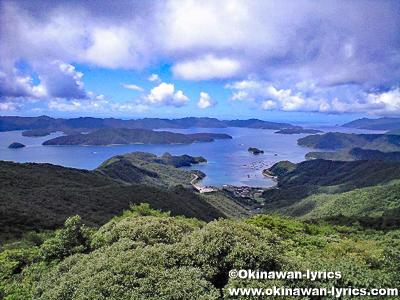 高知山展望台@奄美大島
