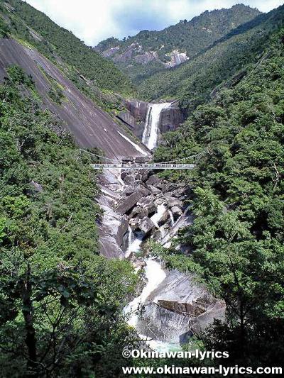 千尋の滝@屋久島