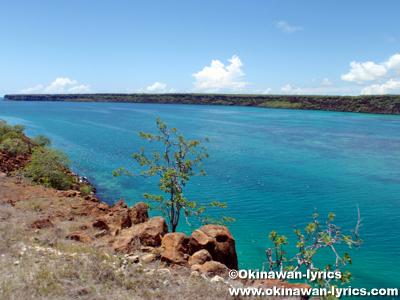 Canal de Itabaca@バルトラ島(Bltra island), ガラパゴス(Galapagos)