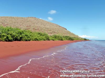 ラビダ島(Rabida island)@ガラパゴス(Galapagos)