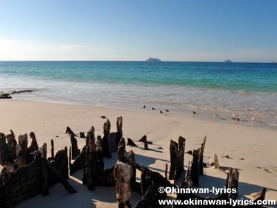 Las Bachas Beach@サンタクルス島(Santa Cruz island), ガラパゴス(Galapagos)