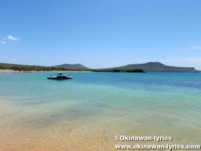 グリーンビーチ(Green Beach)@フロレアナ島(Floreana island), ガラパゴス(Galapagos)