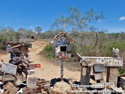 Post Office@フロレアナ島(Floreana island), ガラパゴス(Galapagos)