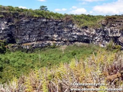 Los Gemelos@サンタクルス島(Santa Cruz island), ガラパゴス(Galapagos)
