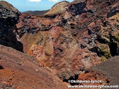 Volcán Chico@イザベラ島(Isabela island), ガラパゴス(Galapagos)