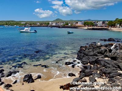 Playa de los Marinos@サンクリストバル島(San Cristóbal island), ガラパゴス(Galapagos)
