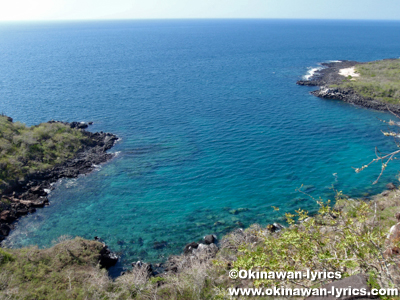 Las Tijeretas@サンクリストバル島(San Cristóbal island), ガラパゴス(Galapagos)