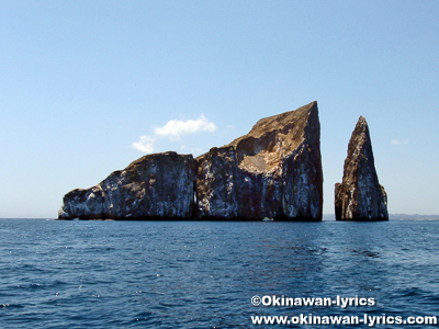 Kicker Rock(León Dormido)@ガラパゴス(Galapagos)
