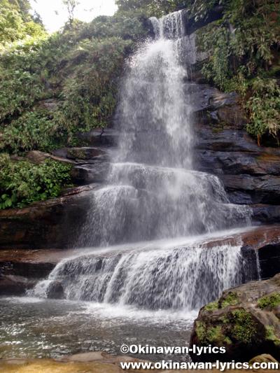 ナーラの滝@西表島