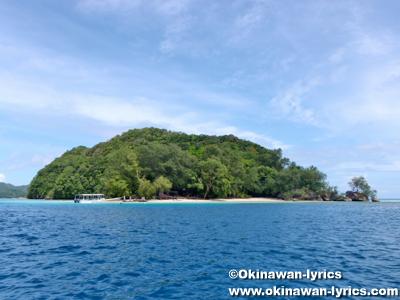 ガルメアウス島(Ngermeaus island)