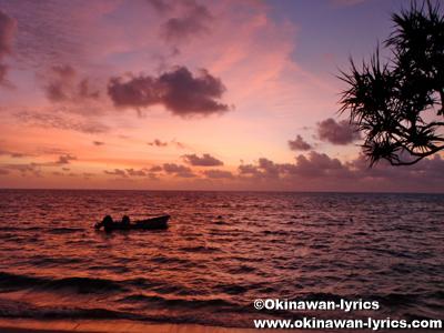 夕焼け(sunset)@カヤンゲル島(Kayangel island)