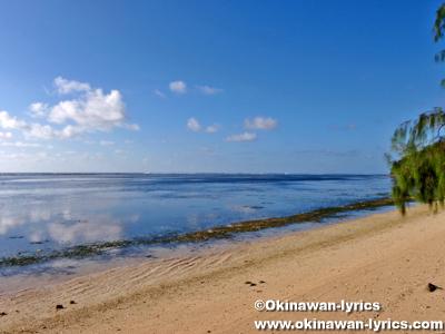 オレンジビーチ(Orange beach)@ペリリュー島(Peleliu islnad)