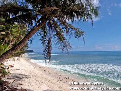 ハネムーンビーチ(Honeymoon beach)@ペリリュー島(Peleliu islnad)