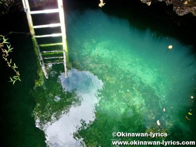スイミングホール(Swimming hole)@ペリリュー島(Peleliu islnad)