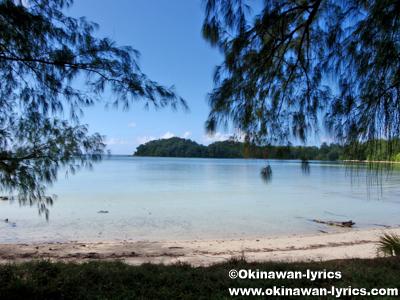 ブラッディビーチ(Bloody beach)@ペリリュー島(Peleliu islnad)