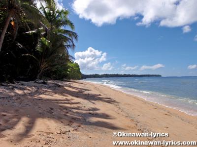 オレンジビーチ(Orange beach)@アンガウル島(Angaur island)