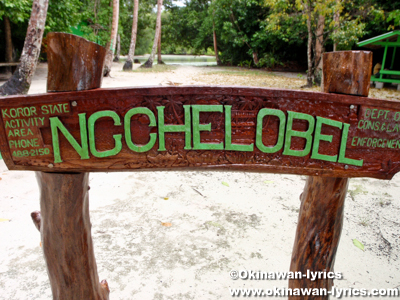 イノキ アイランド(Ngchelobel island)@パラオ(Palau)