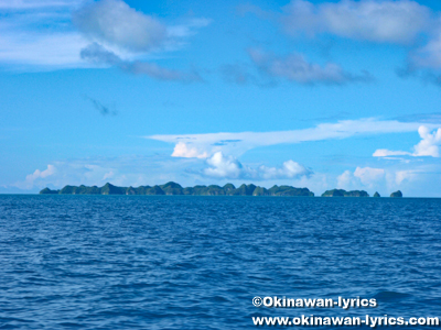 70アイランズ(Seventy islands)@パラオ(Palau)
