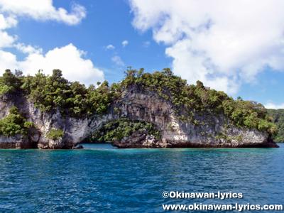 ナチュラルアーチ(Natural Arch)@パラオ(Palau)