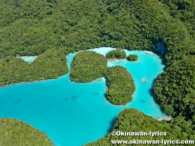 ミルキーウェイ(Milky Way), ヘリコプター遊覧(helicopter sightseeing)@パラオ(Palau)