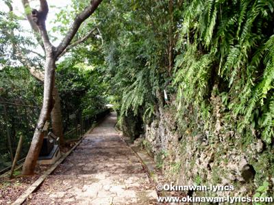 金城町石畳道(日本の道100選)