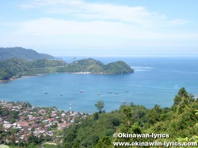 from ブキティンギ(Bukit Tinggi) to ブンクル(Bengkulu)