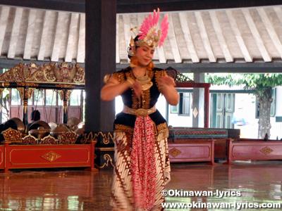 ジャワ伝統舞踊 at Kraton:ジャワ島(Pulau Jawa)、インドネシア