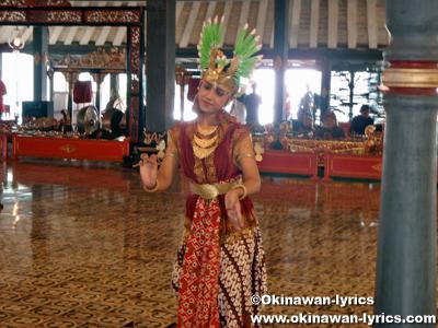 ジャワ伝統舞踊(Jawa traditional dance)@Kraton