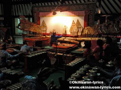 影絵芝居(Wayang Kulit)@ソノブドヨ博物館(Museum Sonobudoyo)