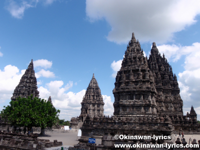 プランバナン寺院 Candi Prambanan:ジャワ島(Pulau Jawa)、インドネシア