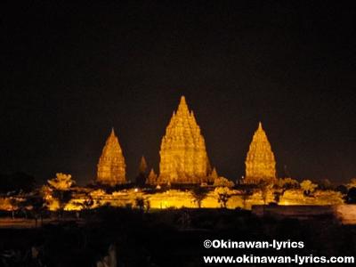 ラーマヤナ舞踏 at プランバナン寺院:ジャワ島(Pulau Jawa)、インドネシア