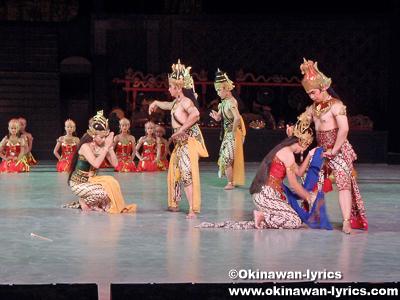 ラーマヤナ舞踏(Ramayana Ballet)@プランバナン寺院(Candi Prambanan)