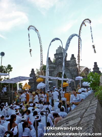 ウルワトゥ寺院(Pura Luhur Uluwatu)