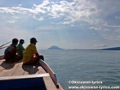 public boat from Sulawesi island to Bunaken island