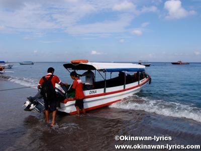 ロンボク島(Pulau Lombok)からバリ島(Pulau Bali)へ、インドネシア