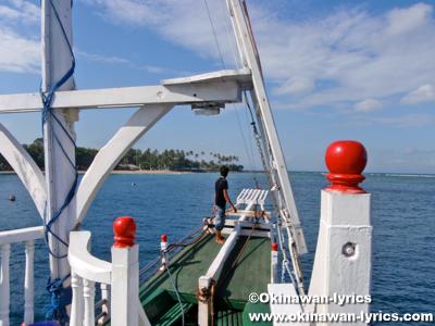 Perama Boat from Lombok island to Bali island
