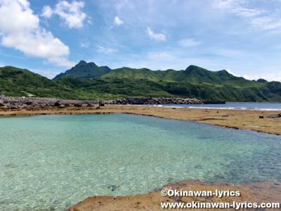平瀬海水浴場@口之島, トカラ列島