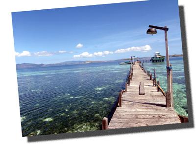 インドネシアのカナワ島(kanawa island of Indonesia)