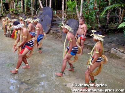 ヤップダンス(Yap dance)@カダイ村(Kaday Village)