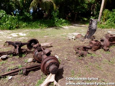 戦跡@アソール島(Asor Is.),ユリシー環礁(Ulithi Atoll)
