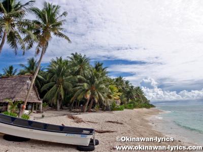 モグモグ島(Mogmog Is.)@ユリシー環礁(Ulithi Atoll)